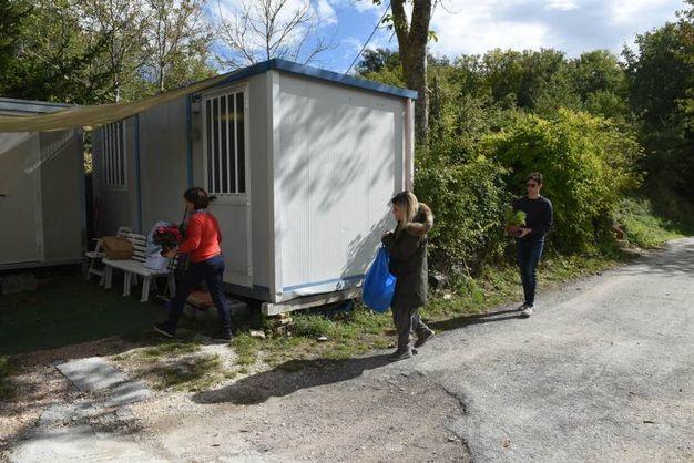Il container dove vivrà Peppina (foto De Marco)