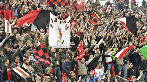 I tifosi rossoneri (Alcide)