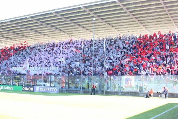 I tifosi della Cremonese (Lapresse)