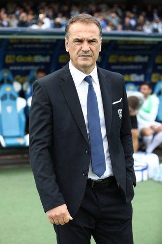 L'allenatore Vincenzo Vivarini (Foto Germogli)