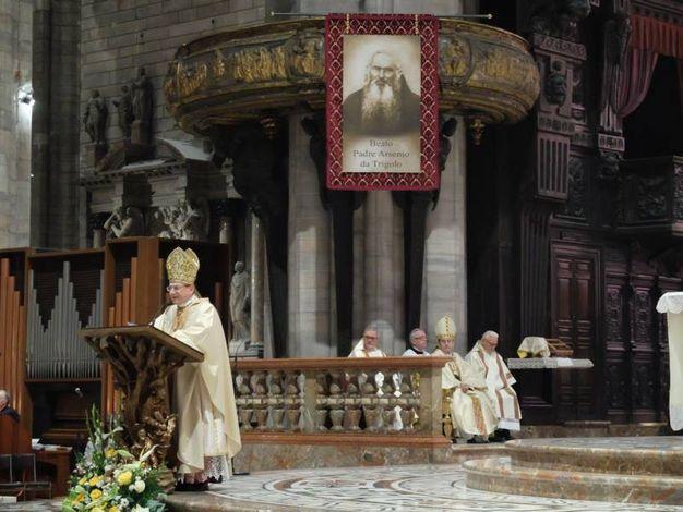 Le cerimonia di beatificazione in Duomo (Newpress)