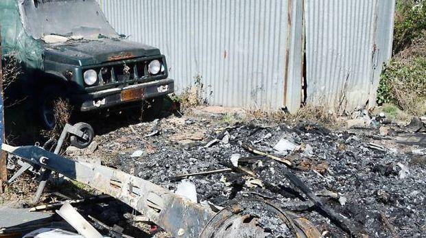 Nell'arco di pochi mesi, il piromane ha messo a segno 35 incendi nella zona di via Grottazza