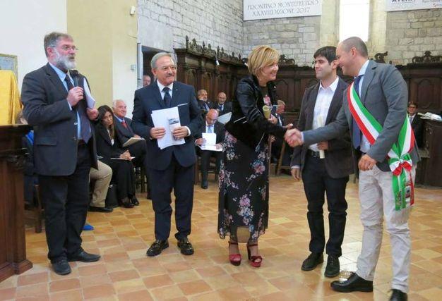 Premio Frontino 2017: Lara Ottaviani e Mathias Martelli (Foto Tiziano Mancini)
