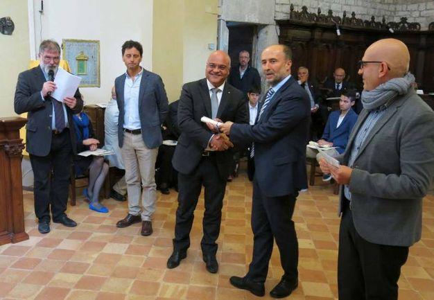 Premio Frontino 2017: il riconoscimento a Giuseppe Antoci (Foto Tiziano Mancini)