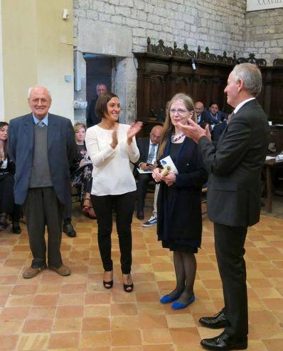 Premio Frontino 2017: Mariapia Veladiano (Foto Tiziano Mancini)