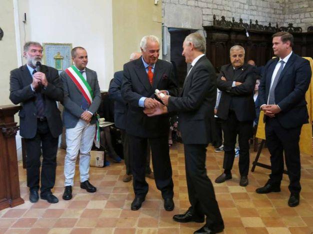 Premio Frontino 2017: Mario Logli (Foto Tiziano Mancini)