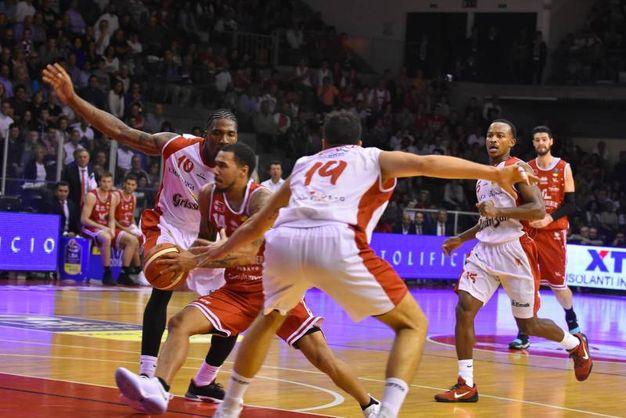 Un momento della partita (Foto Archioli)