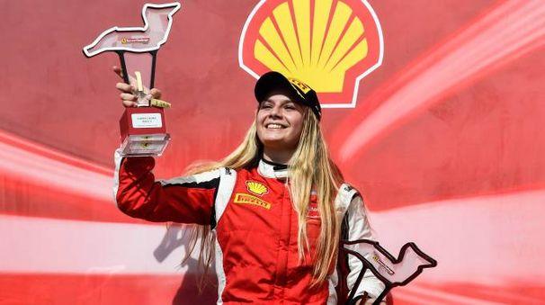 Fabienne Wohlwend si è assicurata la Coppa Shell