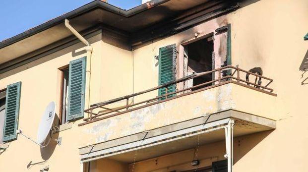 Incendio in una casa a Montaione