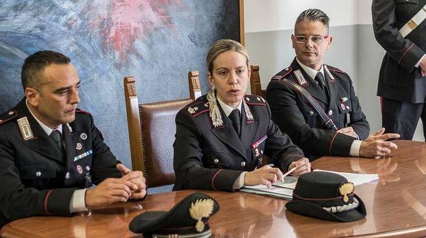 Pesaro, la conferenza stampa per l'arresto del ladro seriale (FotoPrint)