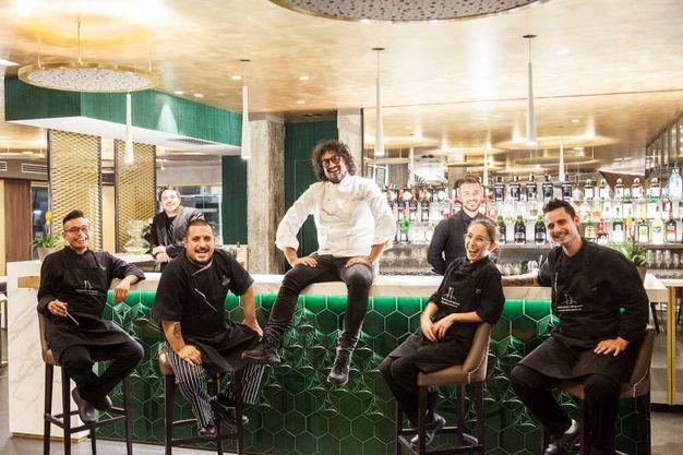 Alessandro Borghese nel suo primo ristorante a Milano