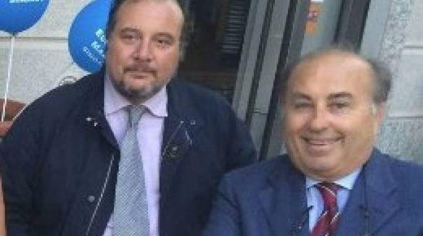 Antonio Lugarà, a destra, con Stefano Gatti
