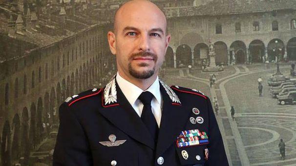 Il maggiore Emanuele Barbieri