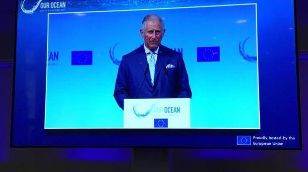 L'intervento di Carlo d'Inghilterra a 'Our Ocean'