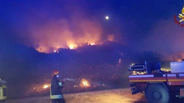 L'incendio di Talamonaccio