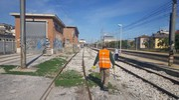 Porto San Giorgio, pulizie in stazione