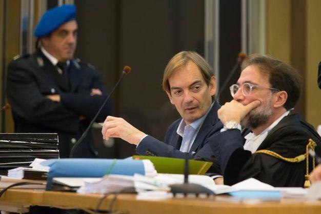 Il medico è accusato dell'omicidio della moglie, Giulia Ballestri (Foto Zani)