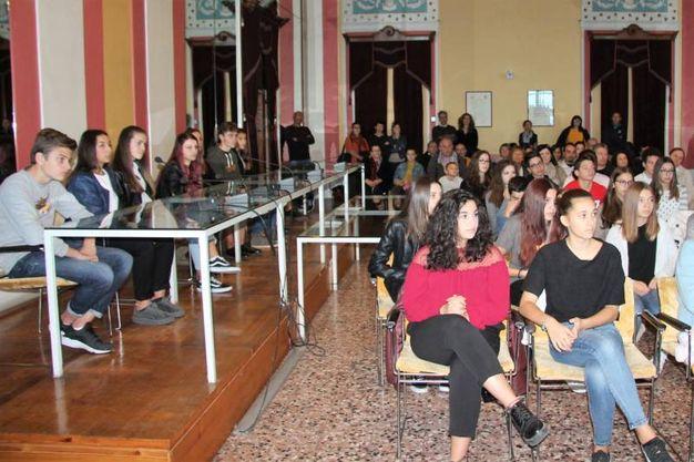 I due eventi si sono tenuti domanica scorsa in Municipio a Bagnacavallo (Foto Scardovi)