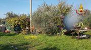 Fumo in via San Benedetto (foto omaggio)