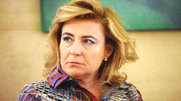 L'ex sindaco di Gemmano Edda Negri Mussolini