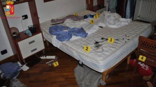 La villa dopo la rapina