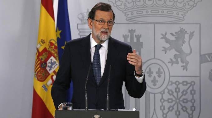 Il premier spagnolo Mariano Rajoy (Ansa)