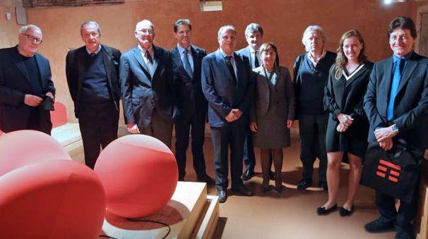 Relatori e ospiti del convegno in Villa Reale