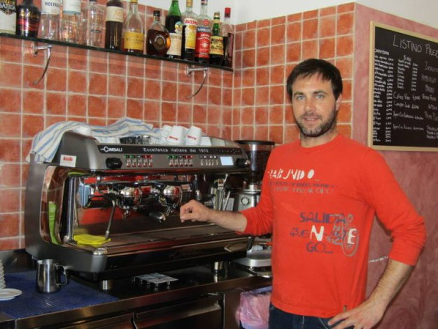 Joel Gaudet (Bar La Rinascita, San Vincenzo)