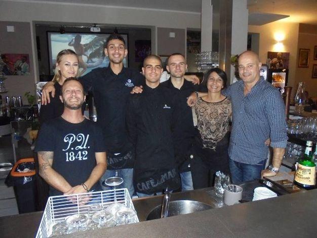 Il super team del Gran Cafè, Marina di Cecina