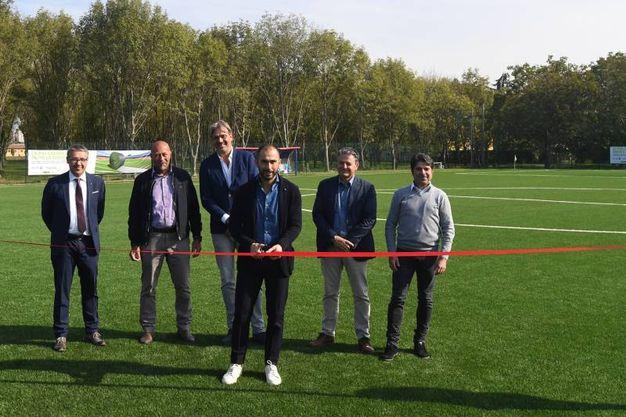 Al centro sportivo Niccolò Galli è stato inaugurato il campo  sintetico Duo Shape con Geolastic (foto Schicchi)