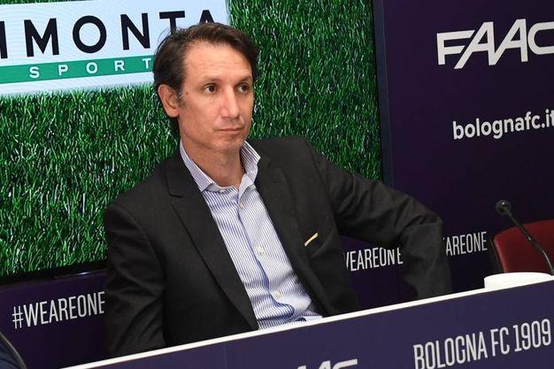 Il ds del Bologna Riccardo Bigon ha confermato i risultati più che soddisfacenti di questo campo innovativo (foto Schicchi)