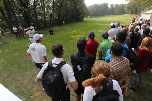 Il campo da Golf nel Parco di Monza / Rossi