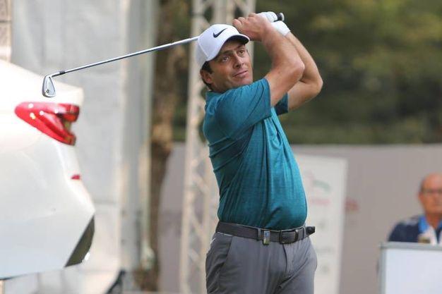 Il campione Francesco Molinari