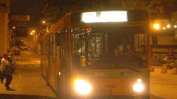 Un autobus sulla tratta monzese