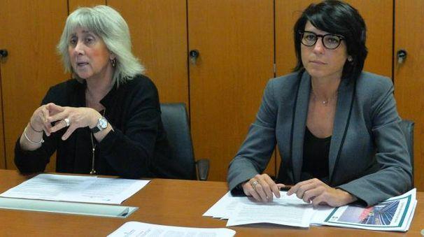 Il procuratore Daniela Borgonovo e l'assessore regionale Francesca Brianza