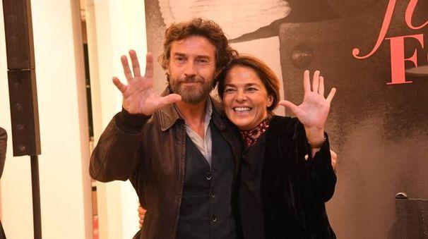 Cristina Lucchini e Alessio Boni (Foto Schicchi)