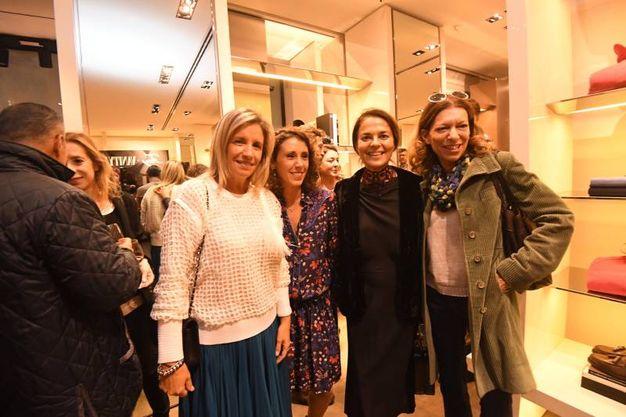 Rossella Barbaro, Giorgia Vergari, Cristina Lucchini e Cristina Pezzini (Foto Schicchi)