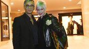 Gianluca Muratori con la moglie Elena Paolini (Foto Schicchi)
