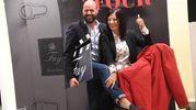 Davide Rivola ed Elisabetta Rapizza (Foto Schicchi)
