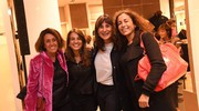 Alcune ospiti in Galleria Cavour (Foto Schicchi)