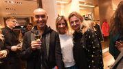 Dario Monroe Manica, Rossella Barbaro e Leopolda Sassoli de Bianchi  (Foto Schicchi)