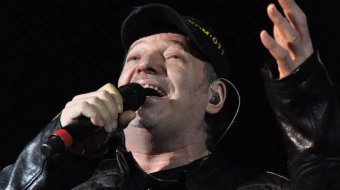 Vasco Rossi, foto d'archivio Antic