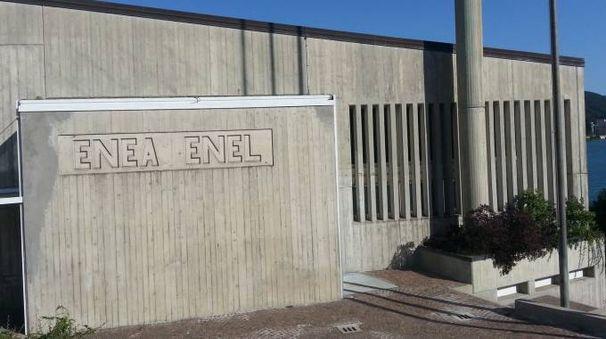 La sede Enea sul lago Brasimone (Foto Dire)