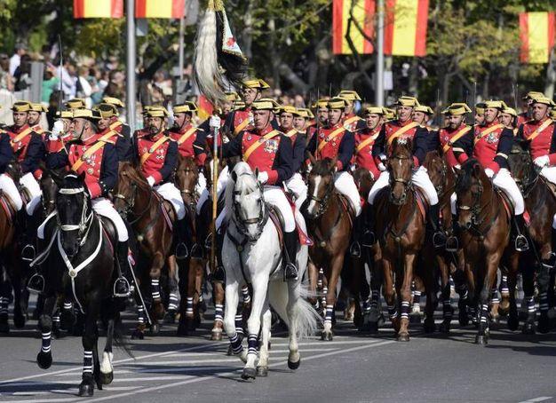 La parata a Madrid - Afp