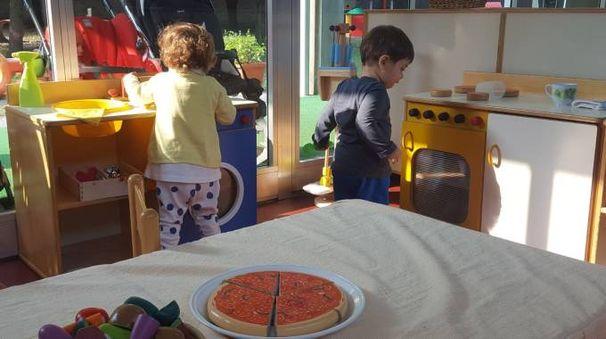 Bambini allo Spazio gioco