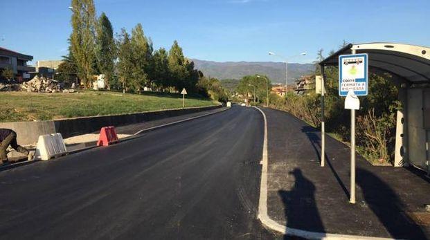 La nuova pista ciclabile tra San Cipriano e Cetinale