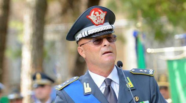 Il generale di corpo d'armata della Guardia di Finanza Domenico Minervini (Foto Schicchi)