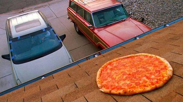 La scena della pizza in 'Breaking Bad' – Foto: AMC