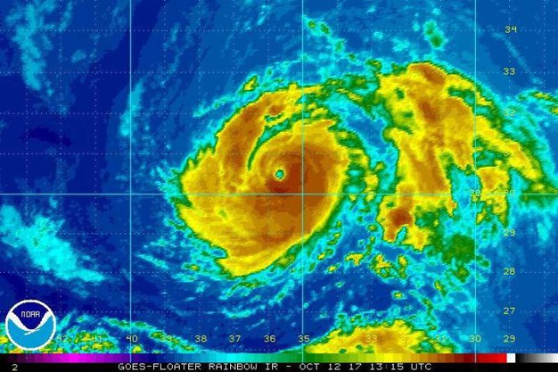 La traiettoria dell'uragano - Ansa