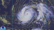 Ophelia vista dal satellite - Ansa